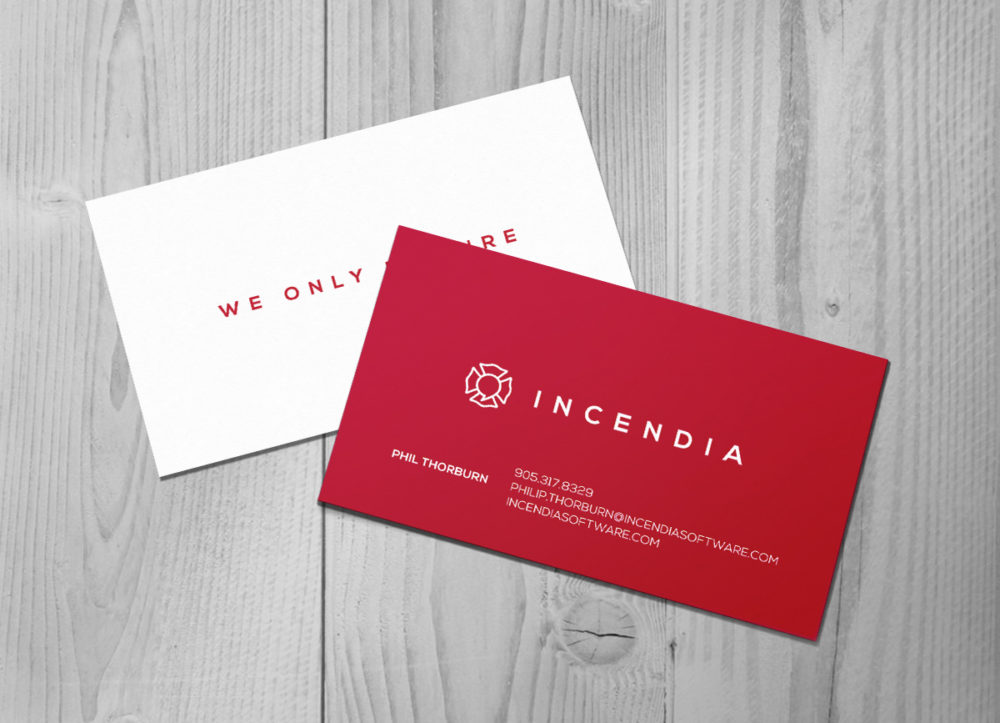 incendia business card